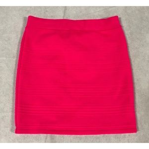 Charlotte Russe Hot Pink Skirt Size Small